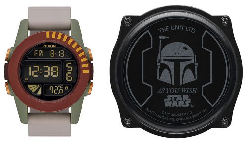 boba 500x289 Nixon The Unit Boba Fett   Limited Reissue