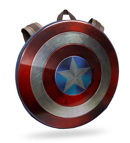 jlkt cap america distressed shield backpack 454x500 Captain America Civil War Distressed Shield Backpack   Limited Edition