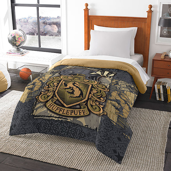jlss harry potter house comforters hufflepuff Harry Potter House Comforters