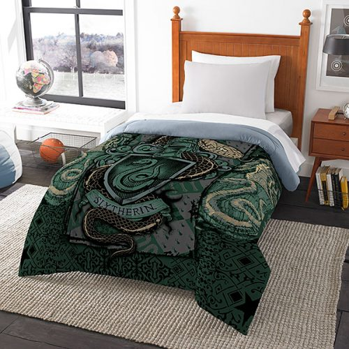 jlss harry potter house comforters slytherin 500x500 jlss harry potter house comforters slytherin