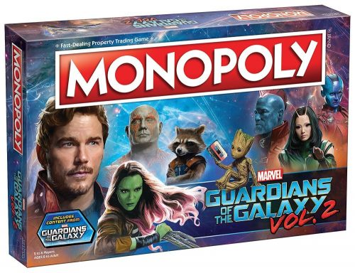 71PWRTyY9L. SL1000  500x384 Guardians of the Galaxy Volume 2 Monopoly Game