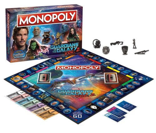 71nX9gbxyOL. SL1000  500x427 Guardians of the Galaxy Volume 2 Monopoly Game