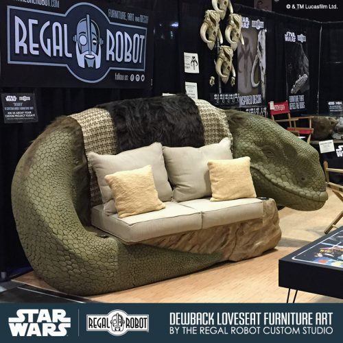 dewback loveseat sofa custom furniture 3 500x500 Custom Star Wars™ Dewback Loveseat