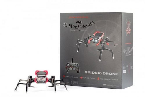 spiderman homecoming drone box 700x466 500x333 Official 'Spider Man Homecoming' Spider Drone