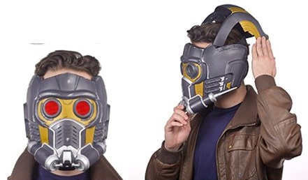 Guardians of the Galaxy Star Lord Electronic Helmet Prop Guardians of the Galaxy Star Lord Electronic Helmet Prop