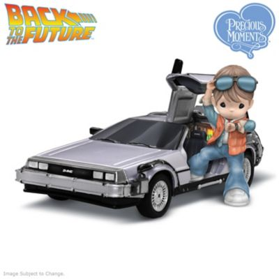 0907843001 Precious Moments Back To The Future Marty McFly Figurine