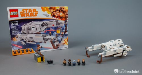 75219 Imperial AT Hauler 1 500x263 LEGO 75219 Imperial AT Hauler from Solo: A Star Wars Story [Review] by The Brothers Brick