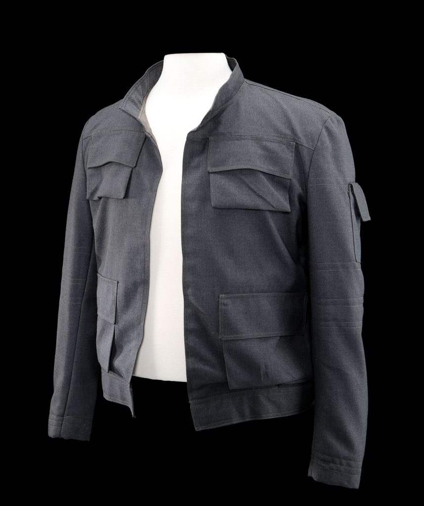 92116 han solo harrison ford jacket 6 858x1024 You can own Hans jacket from Empire Strikes Back for a cool million credits (aka U.S. dollars)
