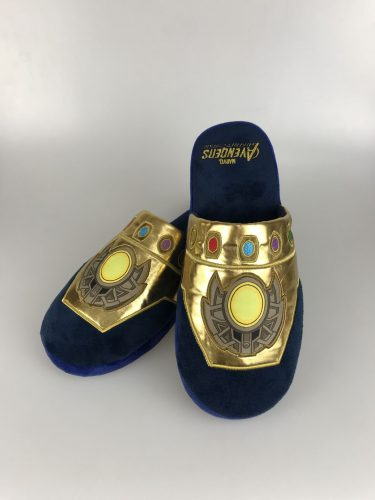 Avengers: No Infinity Stone Unturned Thanos Slippers Preorder   Merchoid