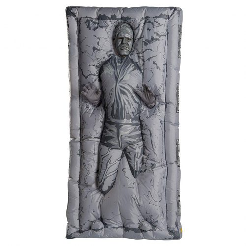 han solo carbonite costume 1 500x500 This Inflatable Han Solo in Carbonite Costume Is Hilarious