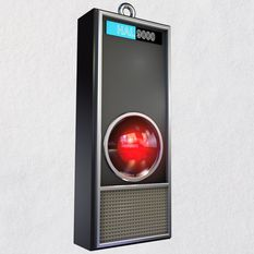 2001 A Space Odyssey HAL 9000 50th Anniversary Ornament With Light and Sound root 1999QXI3213 QXI3213 1470 1.jpg Source Image 2001: A Space Odyssey™ HAL 9000 50th Anniversary Ornament With Light and Sound