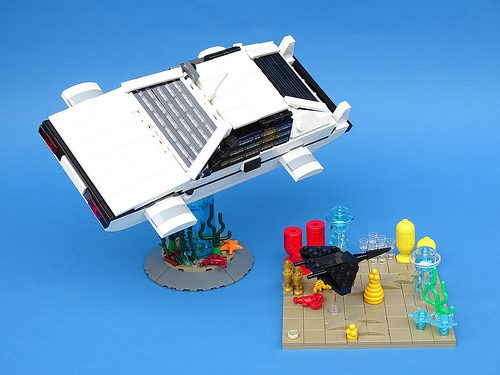 43863021990 5264c5e788 z 500x375 LEGO version of James Bonds submersible Lotus Esprit | The Brothers Brick