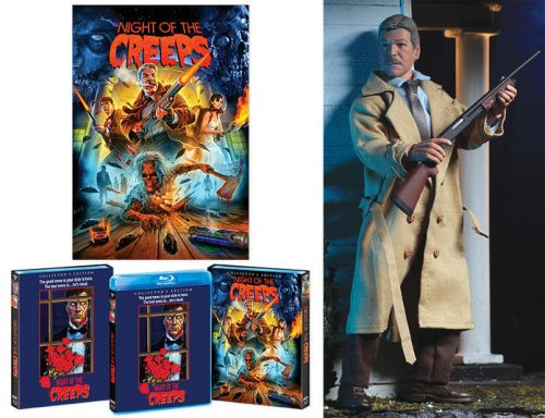 Night of the Creeps Preview 500x384 Night of The Creeps Blu Ray with NECA Detective Ray Cameron Figure   The Toyark   News