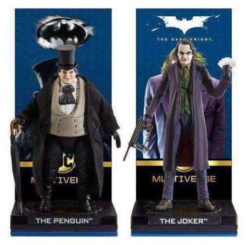 Penguin and Joker Mattel 500x497 The Dark Knight Joker and Batman Returns Penguin DC Multiverse Figures   The Toyark   News