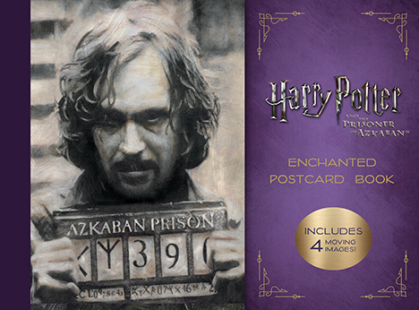 78550 72215 cover Harry Potter and the Prisoner of Azkaban Enchanted Postcard Book | Insight Editions