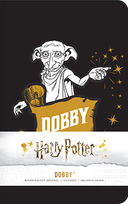 79136 72223 cover Harry Potter: Dobby Ruled Pocket Journal | Insight Editions