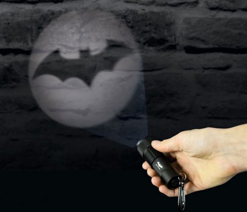 Batman Bat Signal Projection Flashlight 500x429 Batman Bat Signal Projection Flashlight