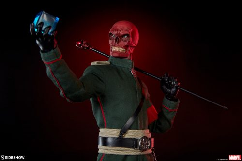 Sideshow Red Skull Figure 006 500x333 Marvel Comics   Red Skull Sixth Scale Figure by Sideshow