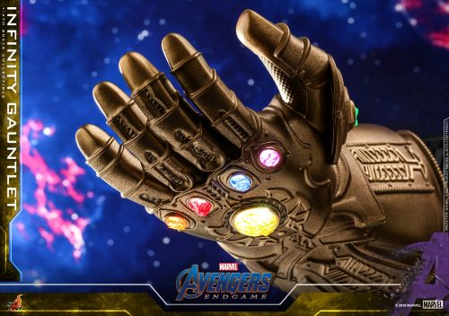 Avengers Endgame Infinity Gauntlet Hot Toys 001 500x352 Avengers: Endgame   1/4 Scale Infinity Gauntlet Collectible by Hot Toys   The Toyark   News