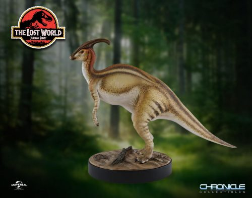 Chronicle Parasaurolophus Statue 001 500x393 Parasaurolophus Statue from The Lost World: Jurassic Park by Chronicle   The Toyark   News