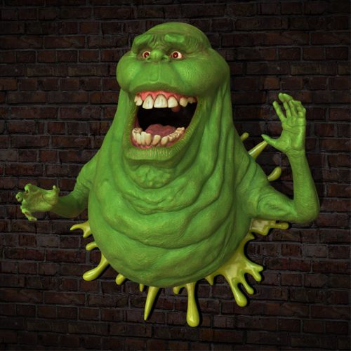 HCG Slimer Wall Sculpture 003 500x500 Ghostbusters   Slimer Life Size Wall Sculpture by HCG   The Toyark   News