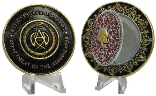 Chronicle John Wick 3 500x308 John Wick Chapter 3   Blood Oath Marker and Medallion by Chronicle   The Toyark   News