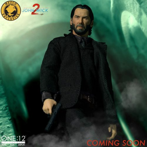 John Wick 2 One12 Deluxe 001 500x500 John Wick Chapter 2 One:12 Collective Deluxe Edition by Mezco   The Toyark   News