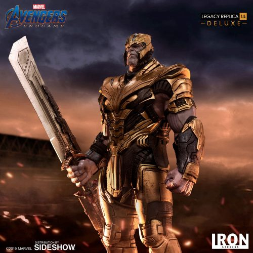 Iron Studios Thanos Deluxe 016 500x500 Avengers: Endgame Thanos 1/4 Scale Statue by Iron Studios   The Toyark   News