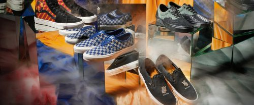harry potter vans 1 500x208 Harry Potter Vans have arrived and they fit their Houses perfectly