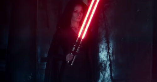 Star Wars  The Rise of Skywalker  2019     D23 Special Look    Movieclips Trailers 1 46 screenshot 500x262 Dark Side Rey's switchblade lightsaber for a whopping $1,599.99