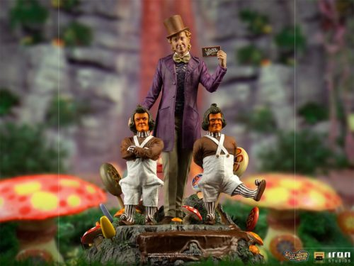 Color1 2 500x375 Willy Wonka and Oompa Loompas in an unprecedented statue by Iron Studios to celebrate their 50th birthday!