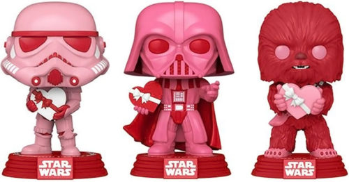 funko valentinet 500x262 Funko Releases Cupid Star Wars POP! Characters for Valentines Day 2021