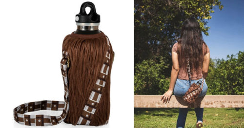 chew1 500x263 Drink It Up, Fuzzball: Official Star Wars Chewbacca Bottle Cooler